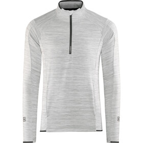 Craft Grid Half Zip Midlayer Herr grey melange